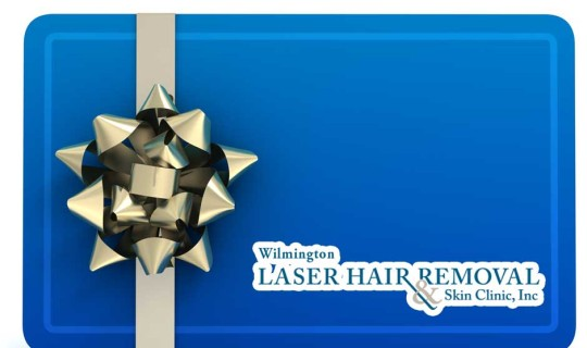Gift Certificates for Christmas from the Laser Hair Removal and Skin Clinic