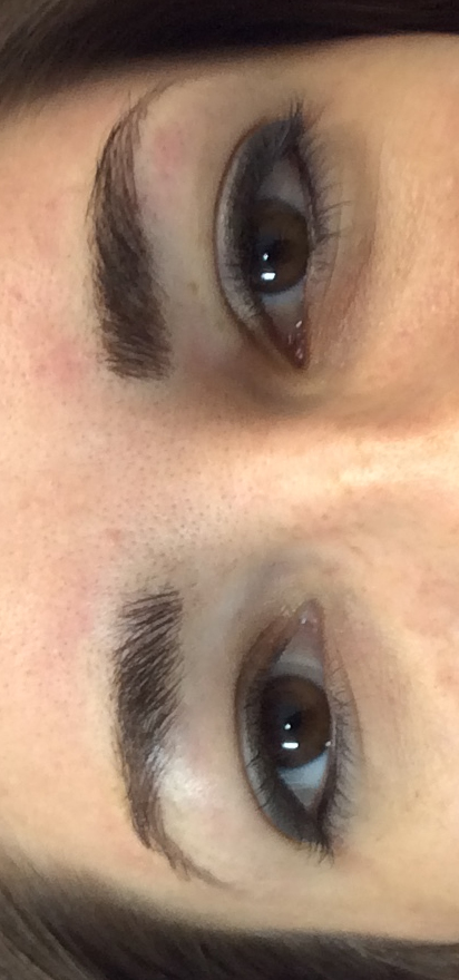 After Permanent Eyebrow