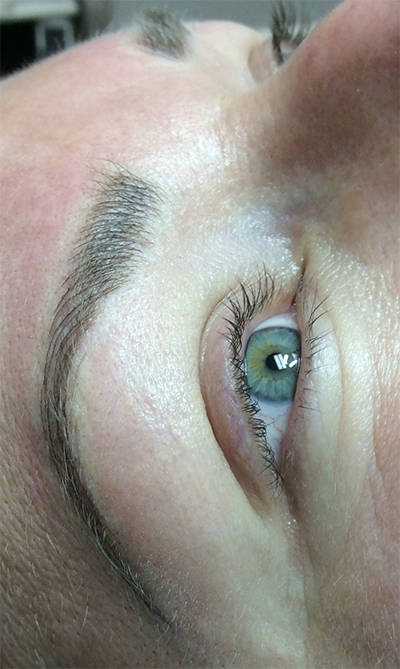 After 2nd Treatment Permanent Eyebrow