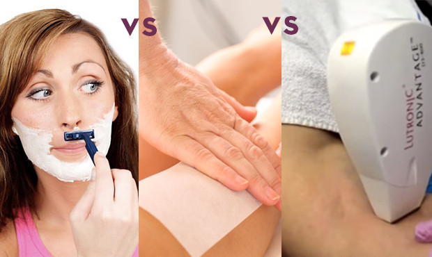 Laser Hair Removal vs Shaving and Waxing–and the Winner is…