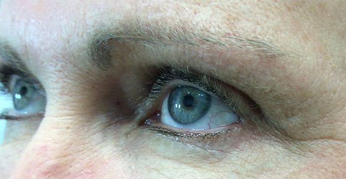 Before Permanent Eyebrow